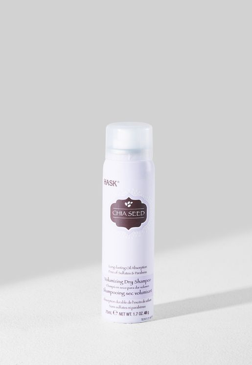 Chia Seed Volumizing Dry Shampoo - Travel Size 75ml