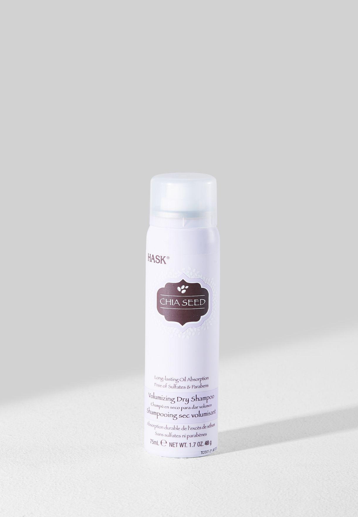 Chia Seed Volumizing Dry Shampoo - Travel Size 75ml