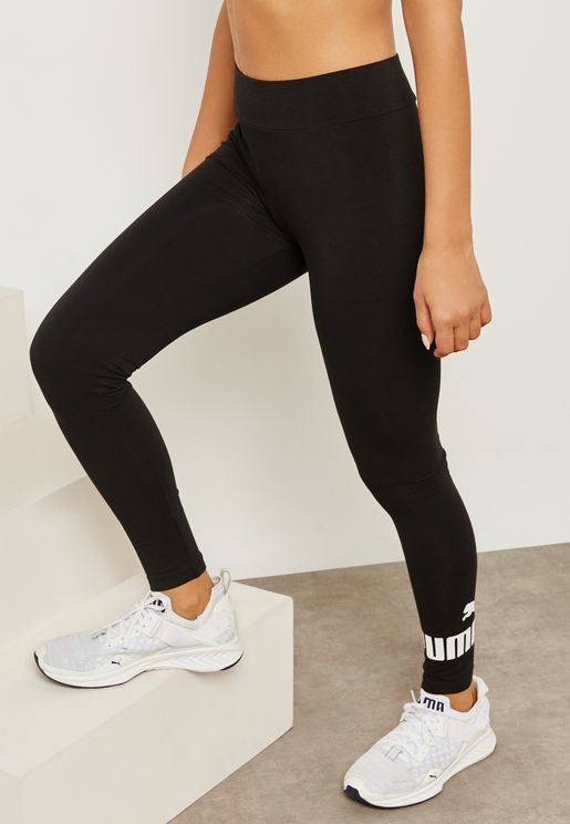 cba5e478366b01 Essential Logo Leggings