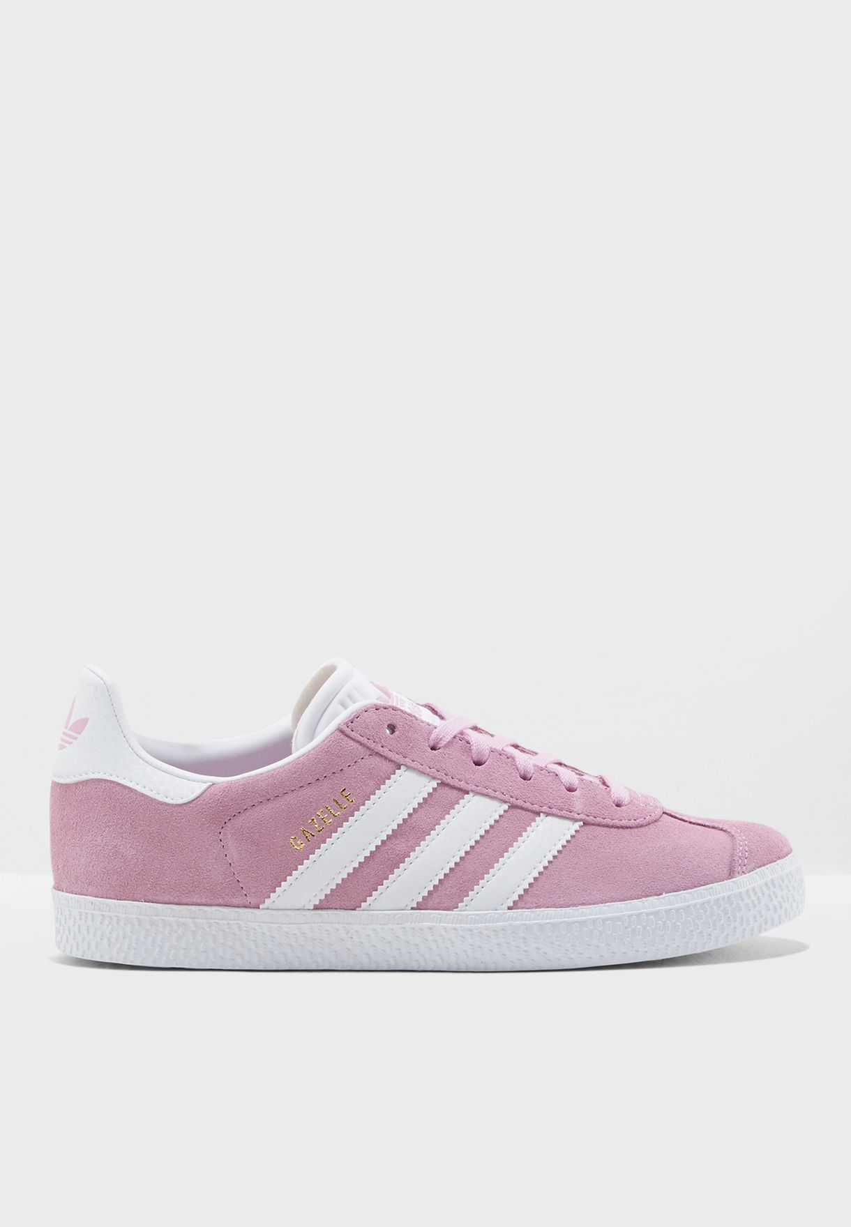 7bbbf43d2892 Shop adidas Originals pink Youth Gazelle B41902 for Kids in UAE ...