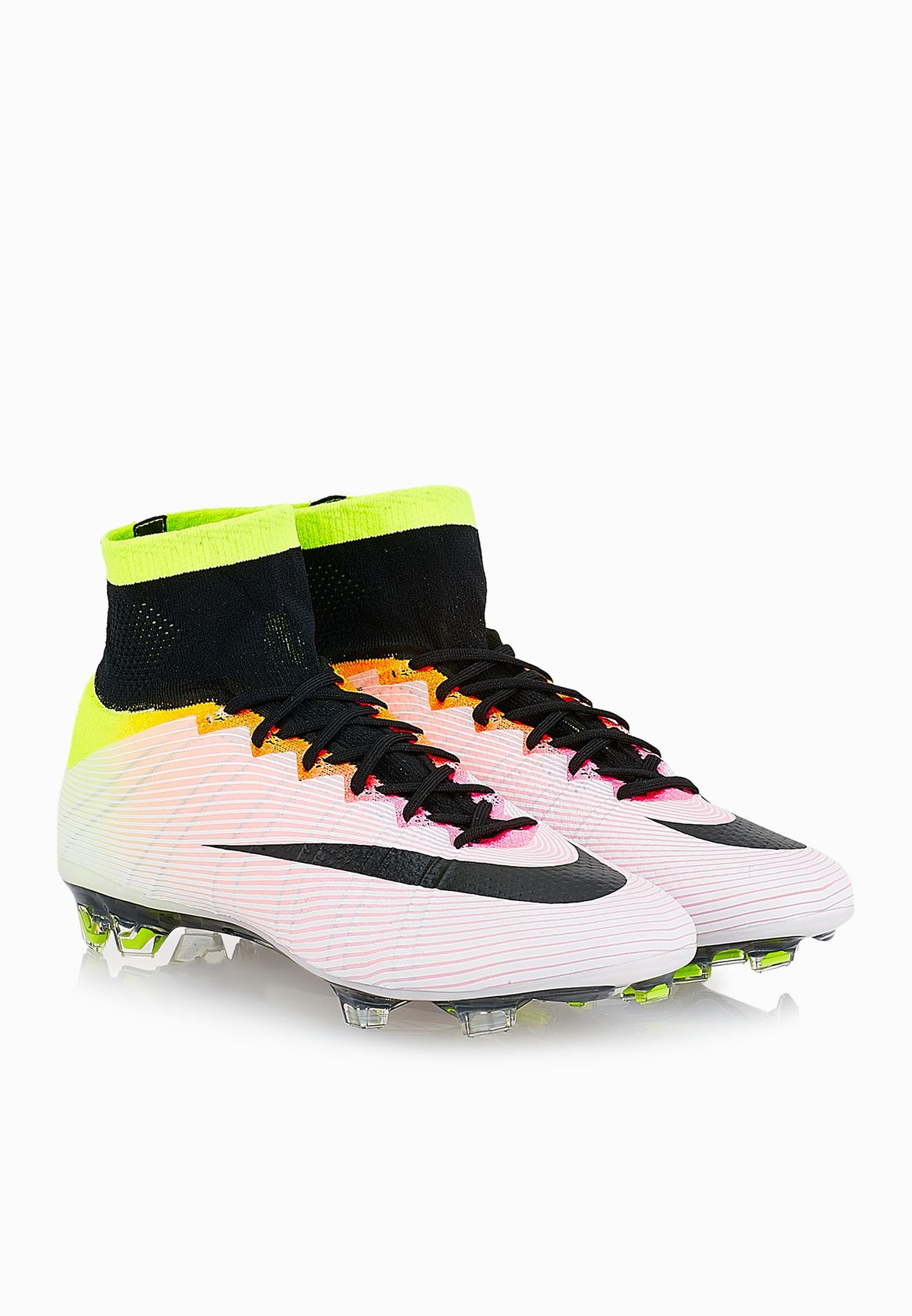 pretty nice 674ca 2fce7 Shop Nike multicolor Mercurial Superfly FG 641858-107 for Men in ...