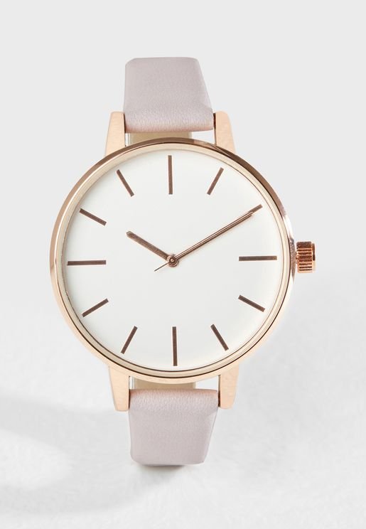 Summer Pastel Strap Watch