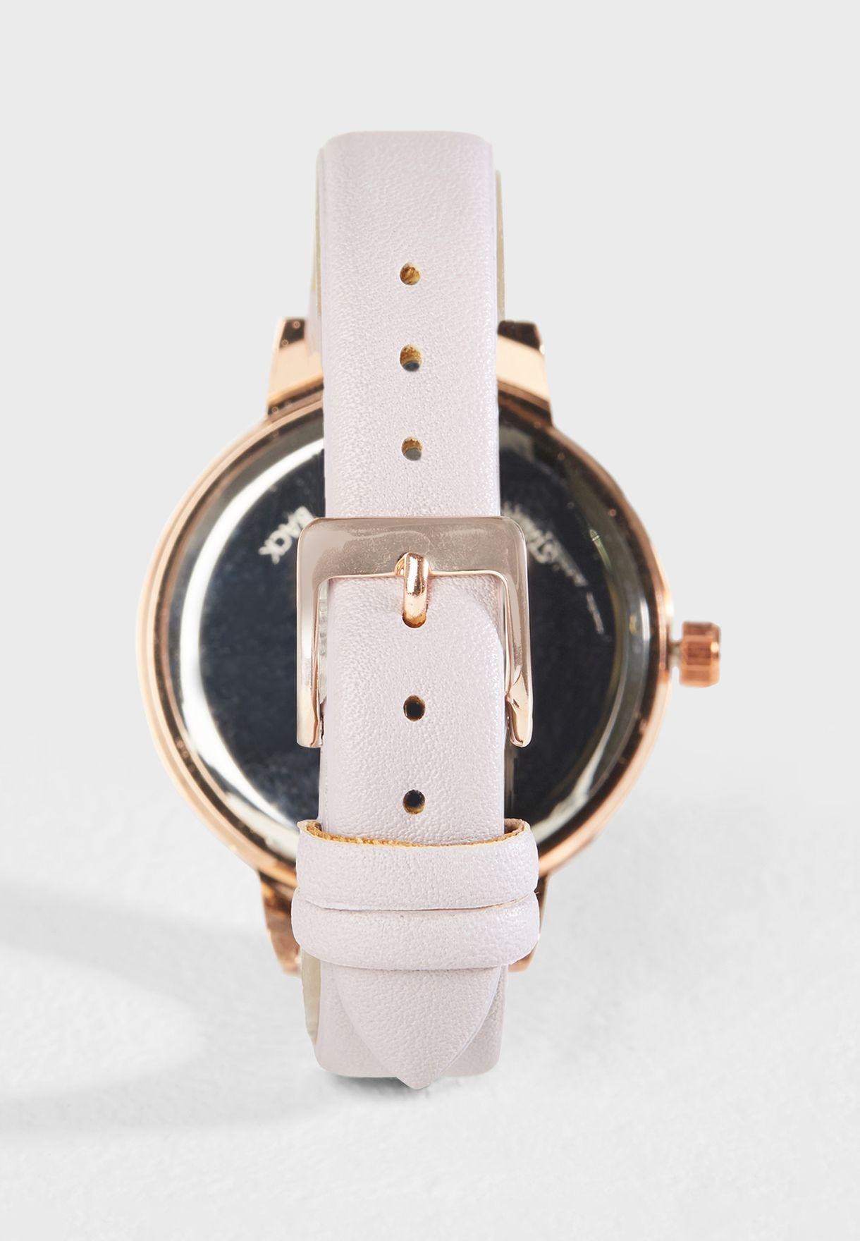 Summer Pastel Strap Watch
