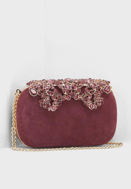Estella Embellished Clutch