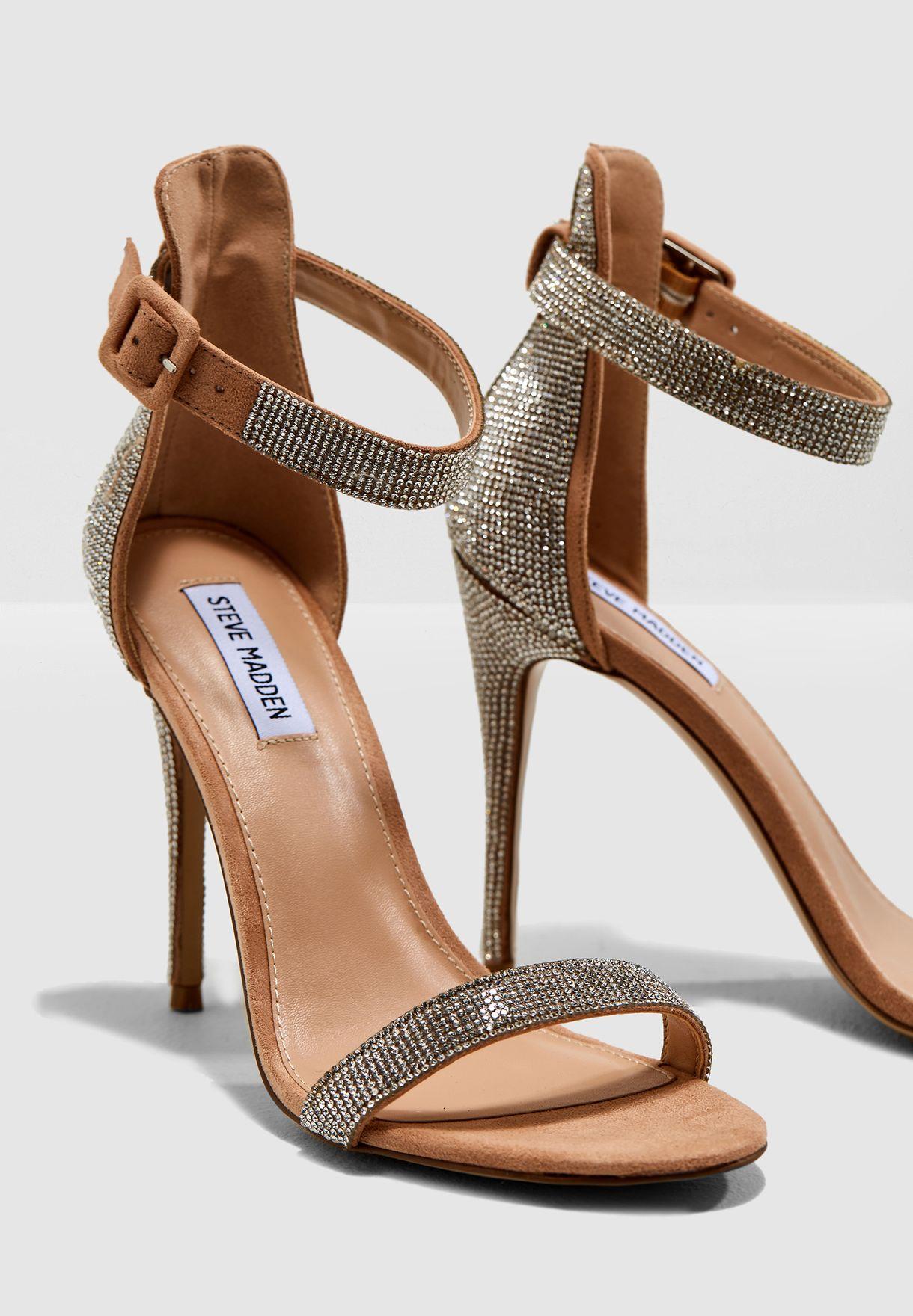 2db05de1c3a Shop Steve Madden pink Mischa Heel Sandal MISCHA for Women in UAE ...