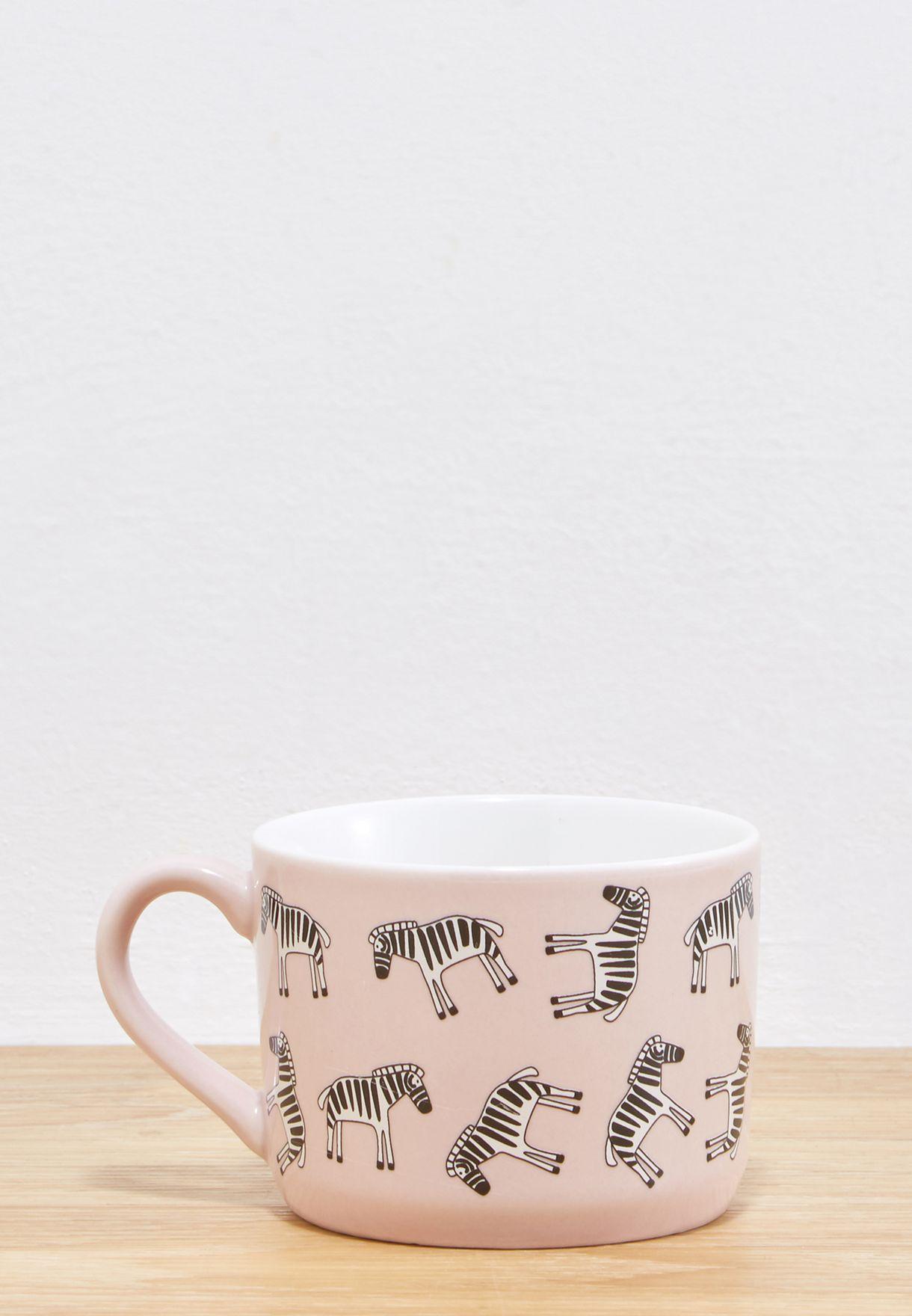 Zebra Print Mini Mug