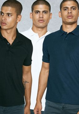 3 Pack Polos