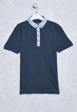 Youth Collar T-Shirts