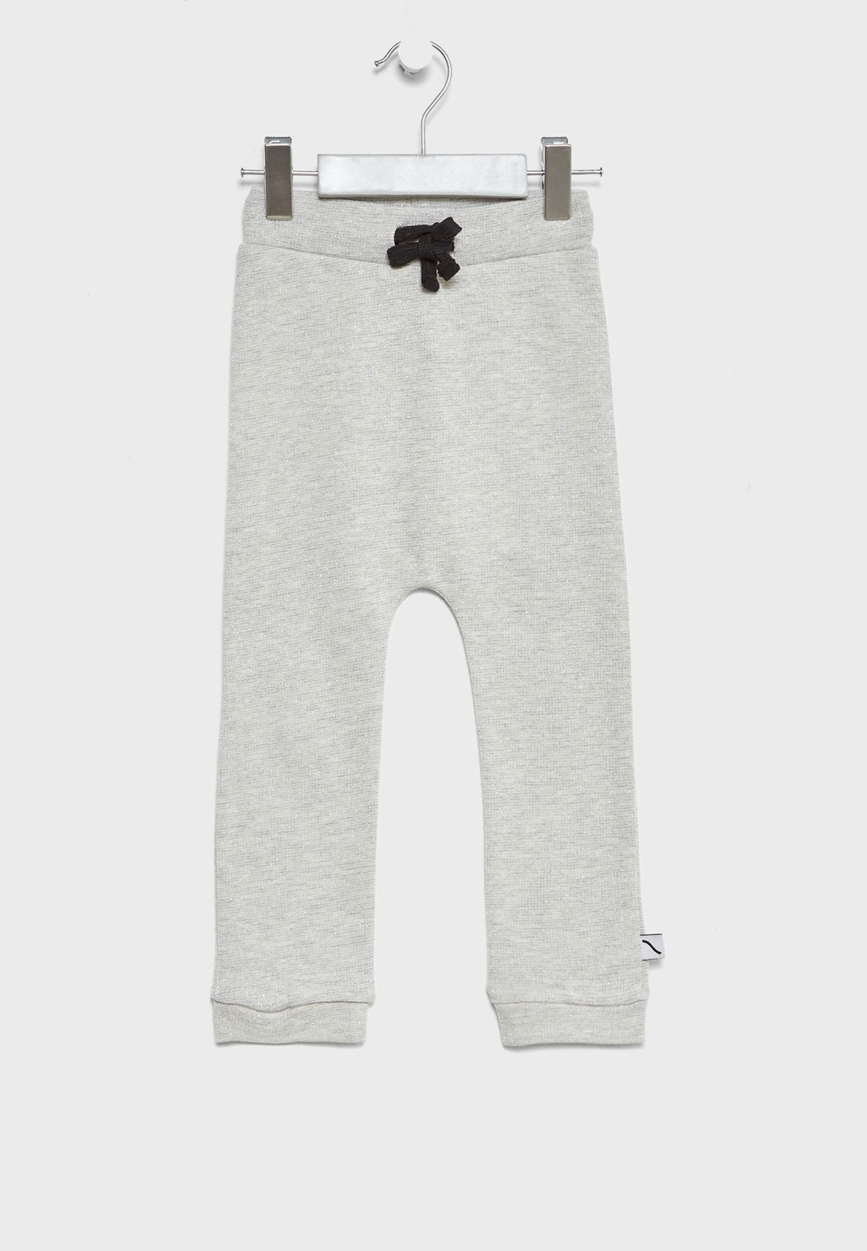 Little Tie Waist Sweatpants