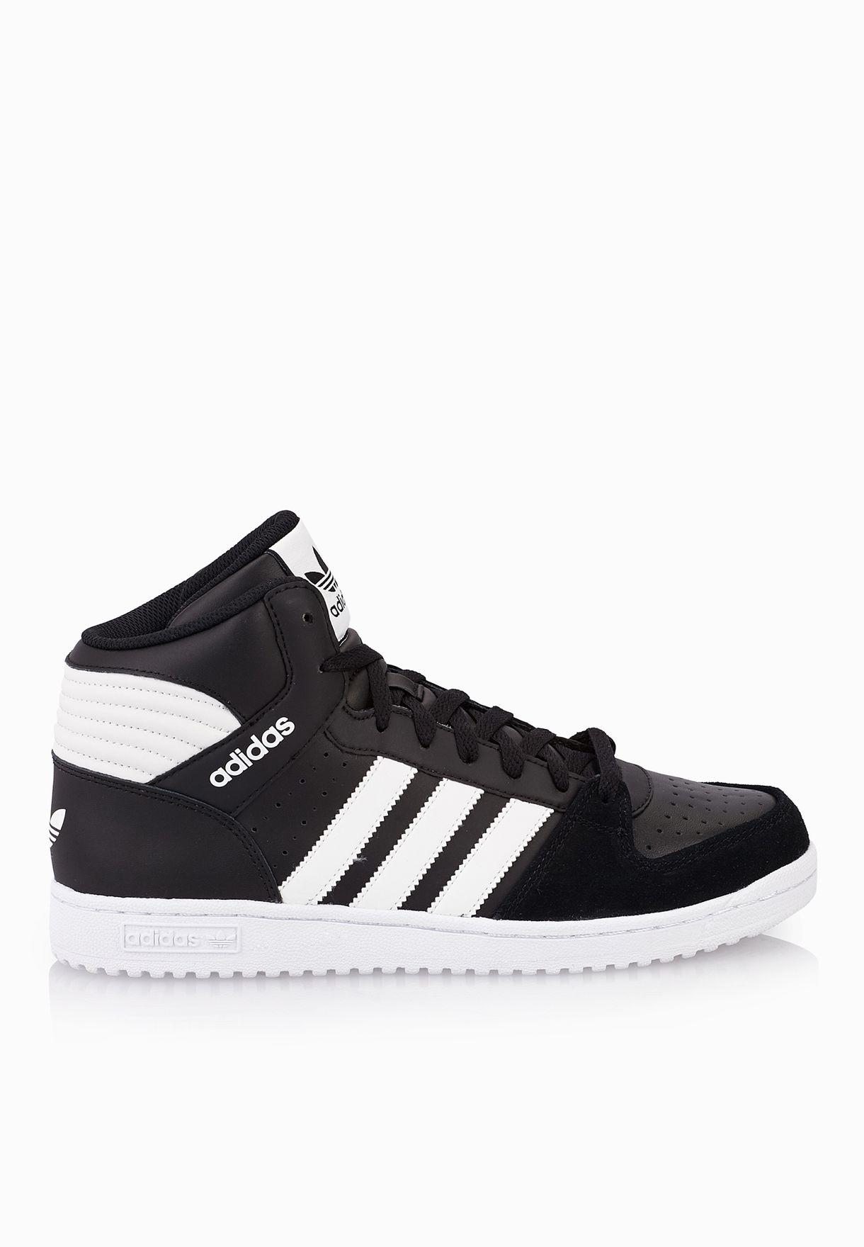 Mens shoes adidas originals pro play 2 ii black white mens
