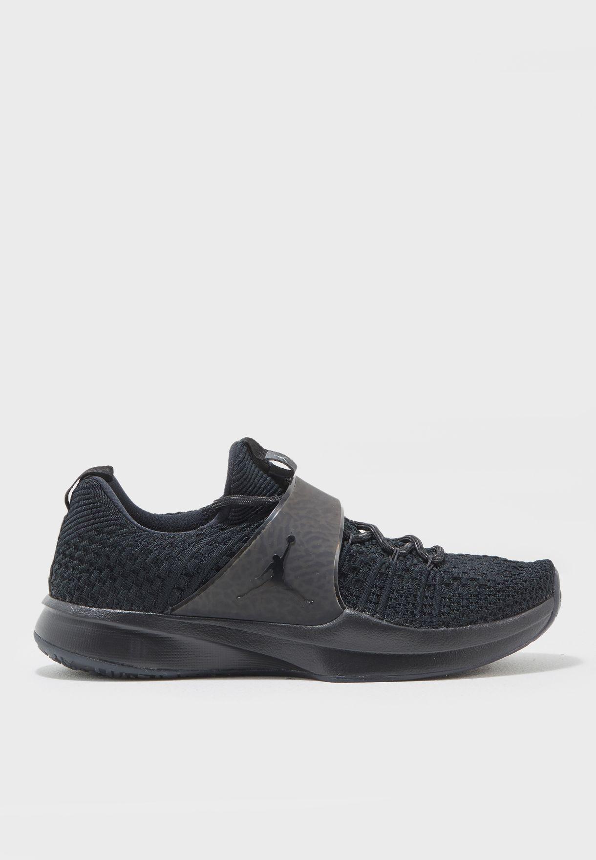 0c5c4267bf0f Shop Nike black Jordan Trainer 2 Flyknit 921210-013 for Men in UAE ...
