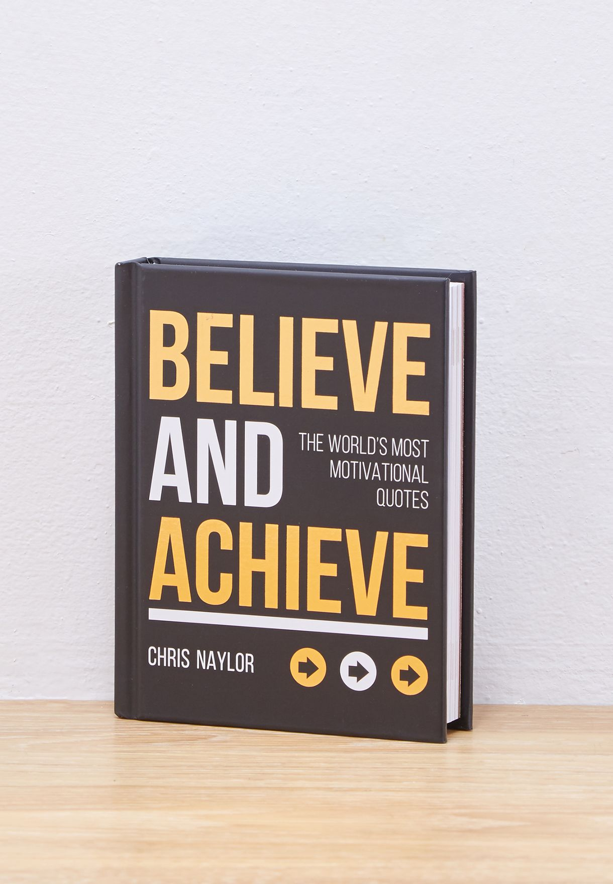 Believe & Achieve Book