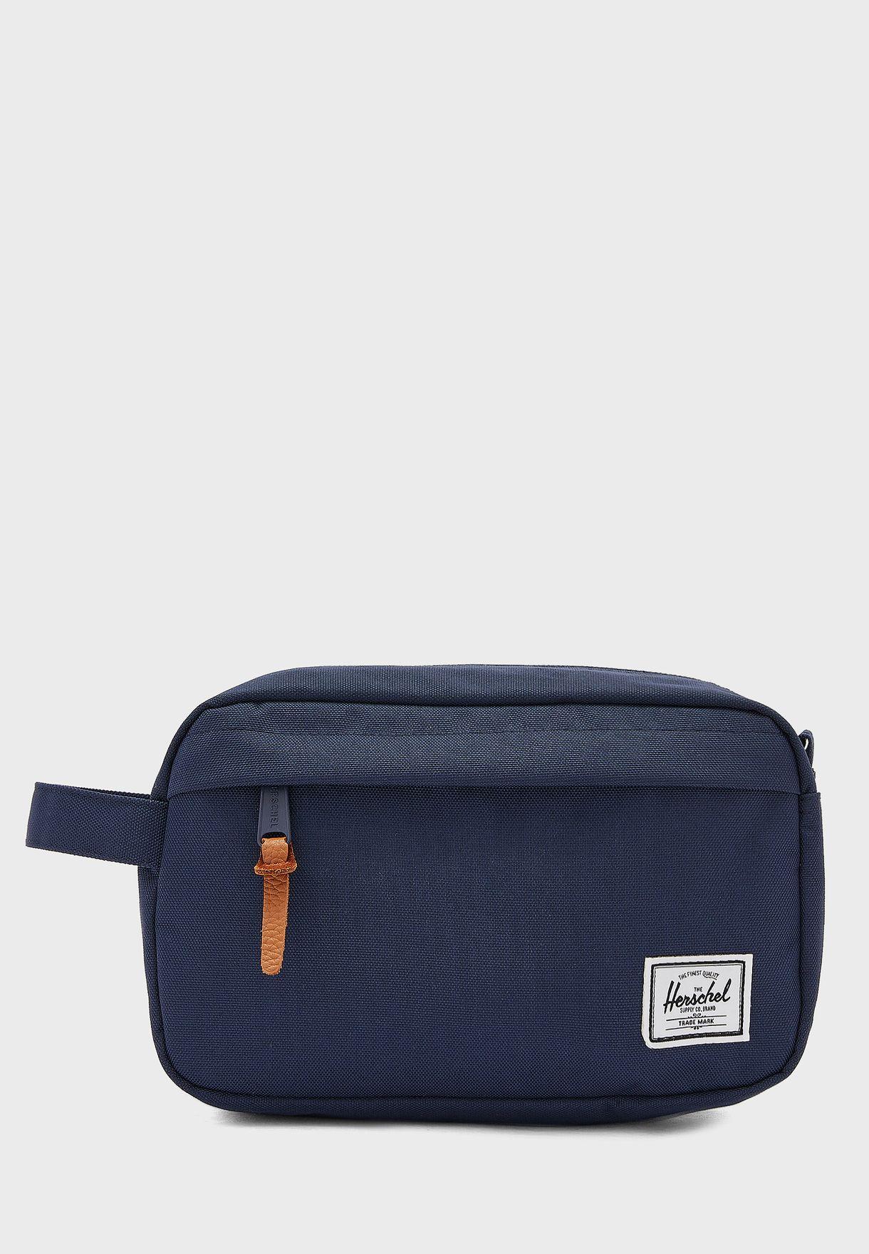 f24e80178a1 Shop Herschel navy Chapter Travel Kit Bag for Men in UAE - HE829AC77YCK
