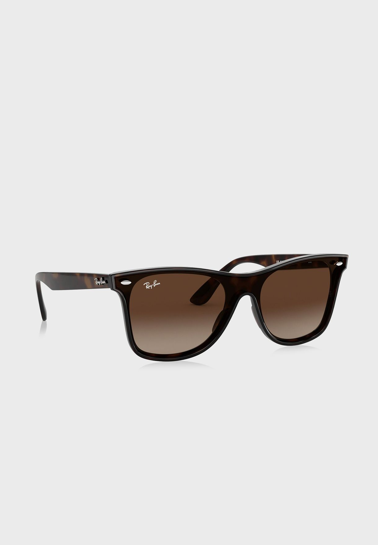 a35ac4f9c9 Shop Ray-Ban browns 0RB4440N Blaze wayfarer sunglasses 8053672919066 ...