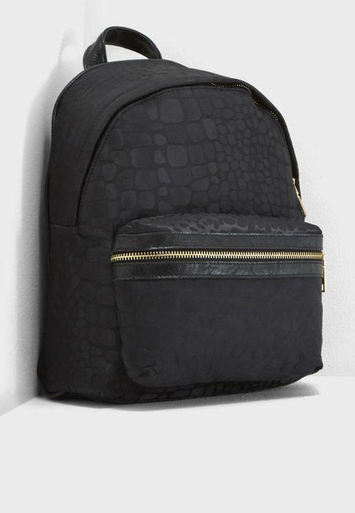 Front Pocket Nylon Backpack