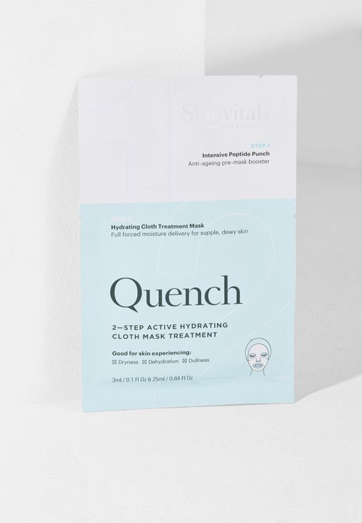 Quench 2 Step Face Mask