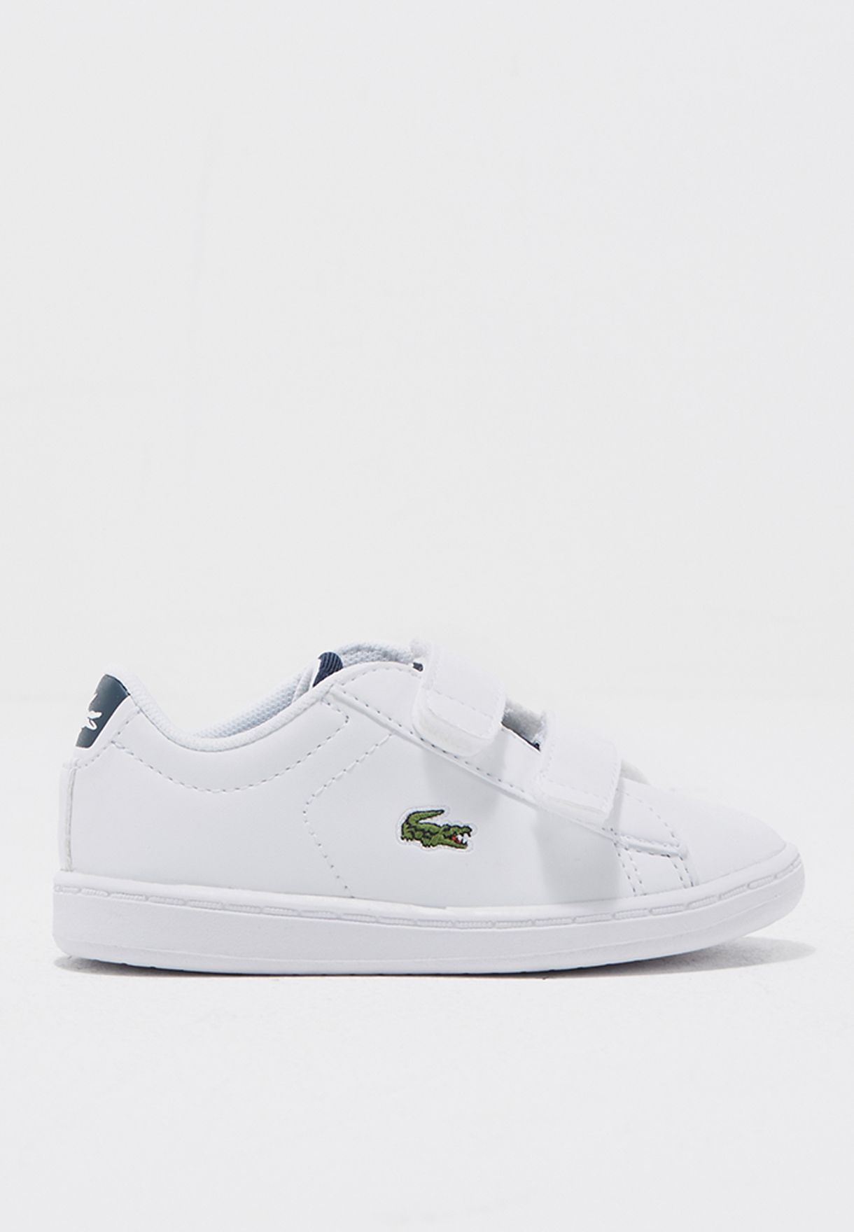 d01dae8df Shop Lacoste white Carnaby Evo 317 1 34SPI0001-042 for Kids in ...