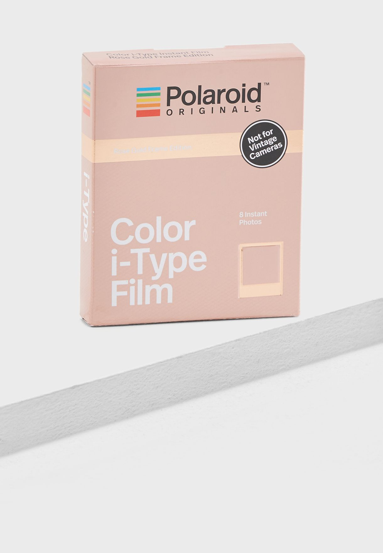 Polaroid Color Film In Rose Gold Pack Of 8