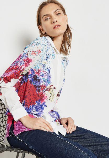 Floral Print Side Shirt