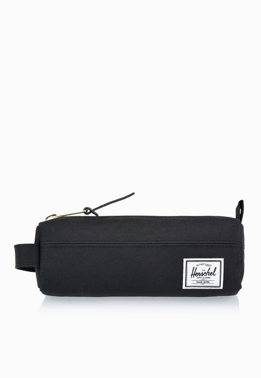 Herschel Black Pencil Case