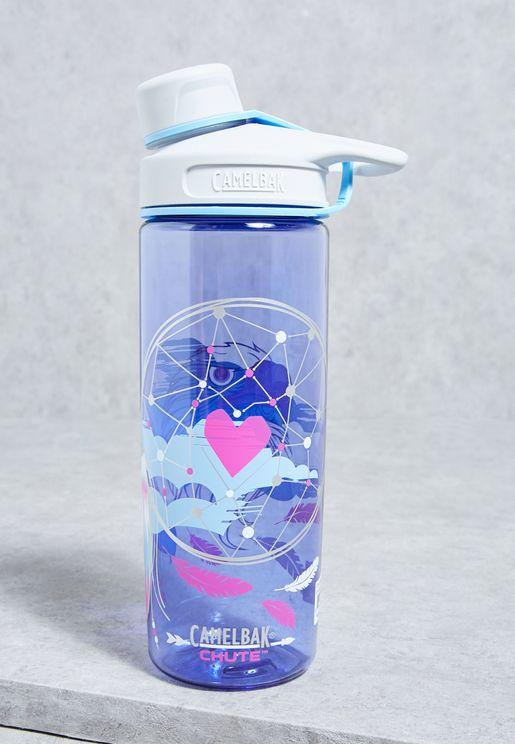Chute Printed Water Bottle - 600ml