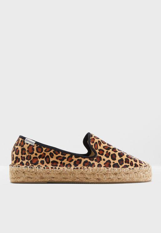 حذاء اسبادريل بطبعات