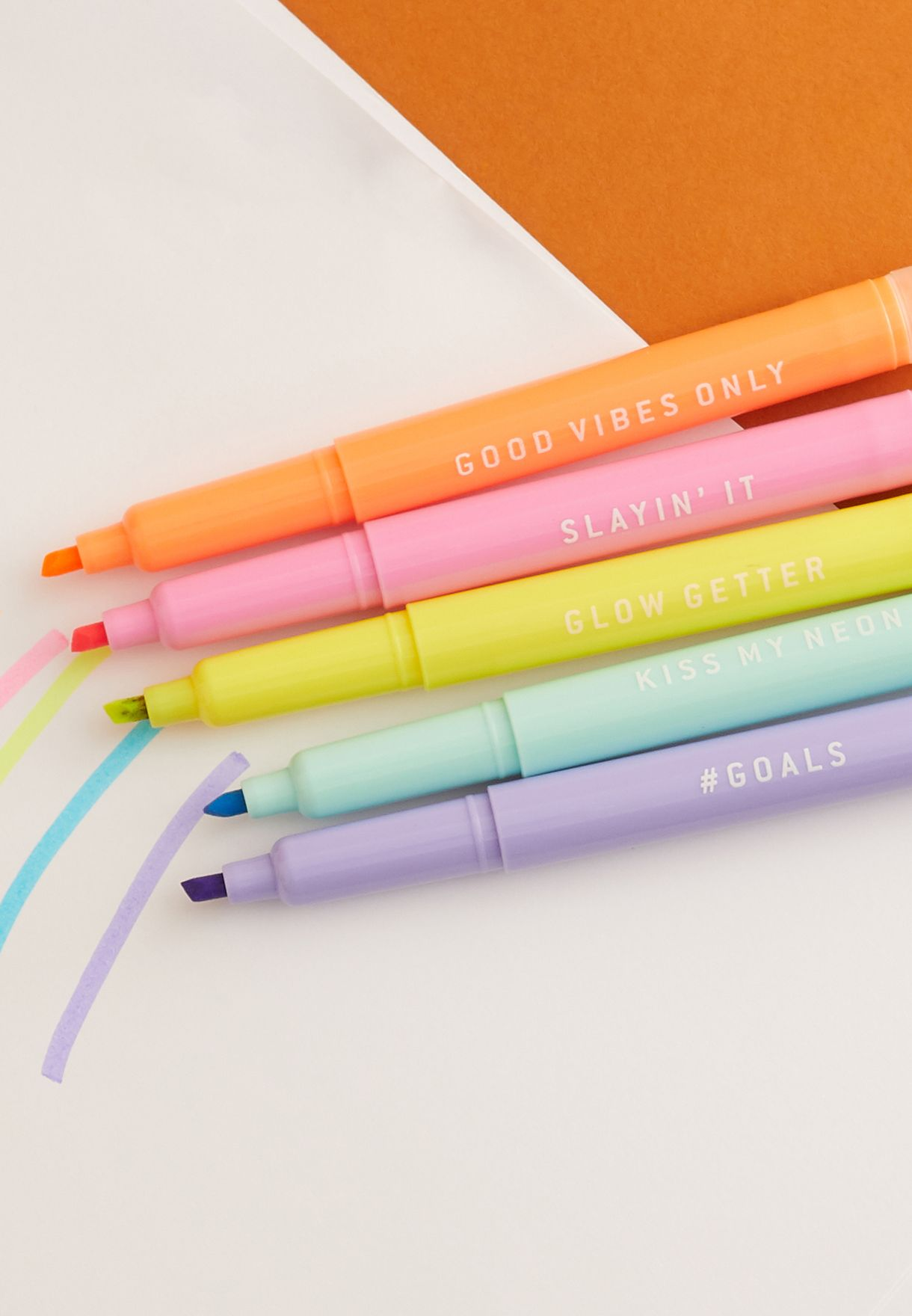 5 Pack Highlighters
