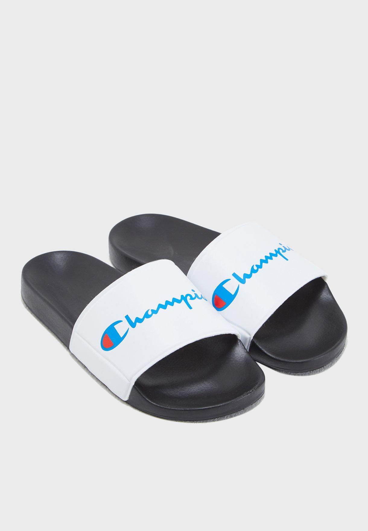 5c319a94fe188c Shop Champion white Pool Slide S10550 for Women in UAE - CH381SH77HOC