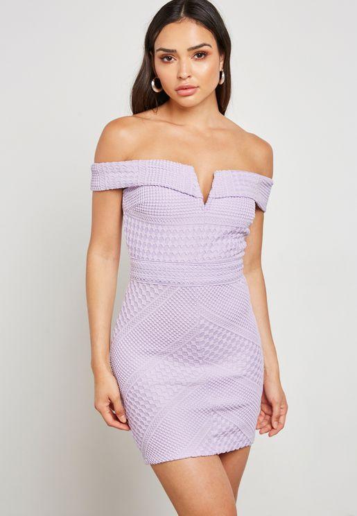 Crochet Bandeau Dress