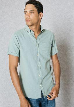 قميص بانماط محبوكة