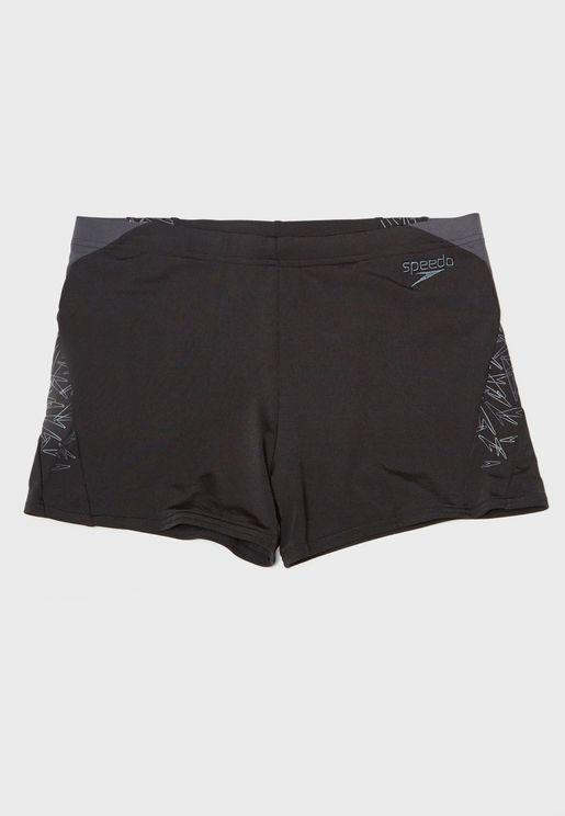 Boom Splice Aqua Shorts