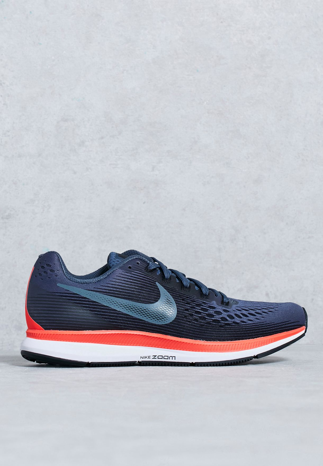 ce04c4dea35 Shop Nike navy Air Zoom Pegasus 34 880560-403 for Women in Bahrain -  NI727SH77WPU