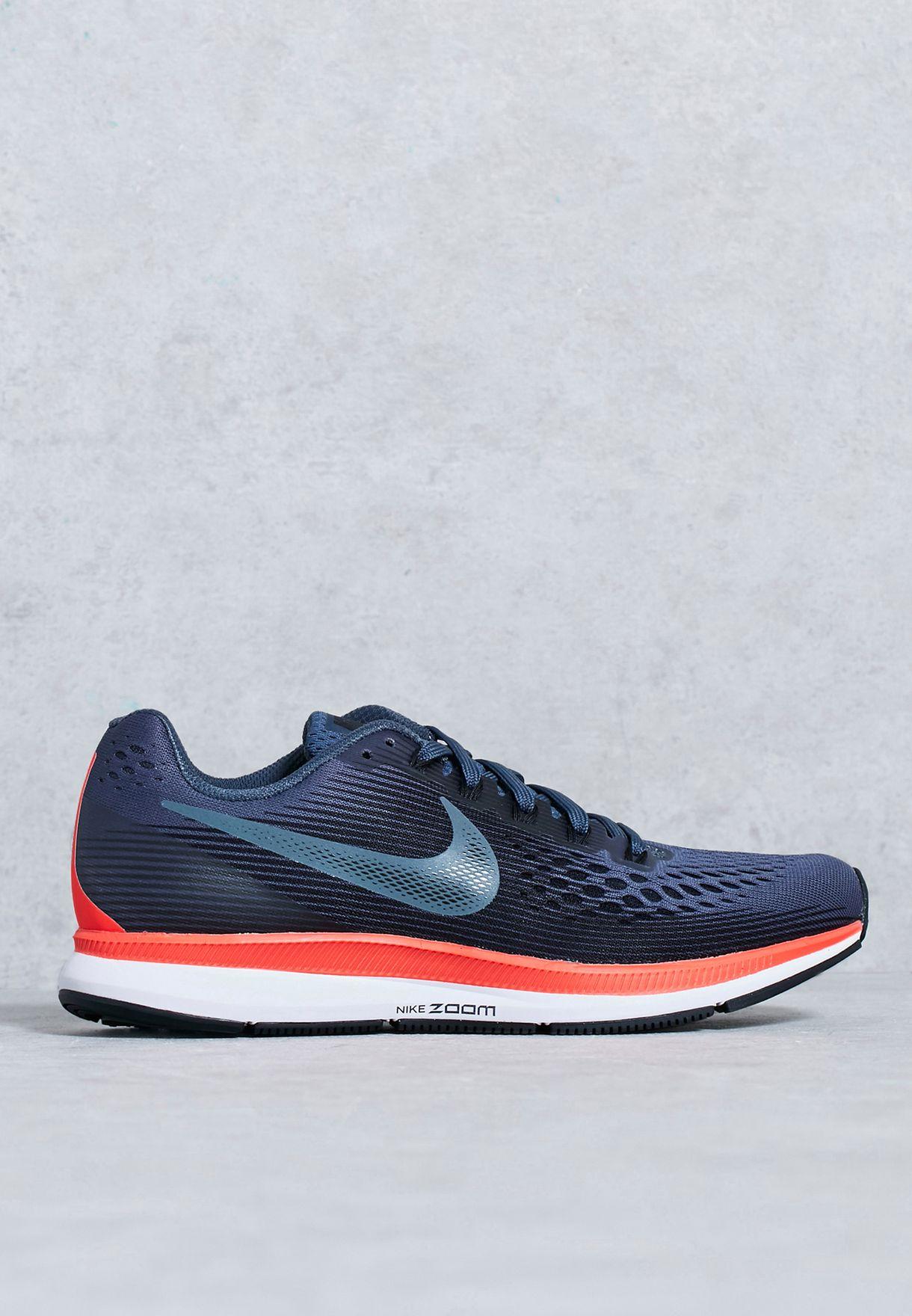 4f08265bbd0fa Shop Nike navy Air Zoom Pegasus 34 880560-403 for Women in UAE ...