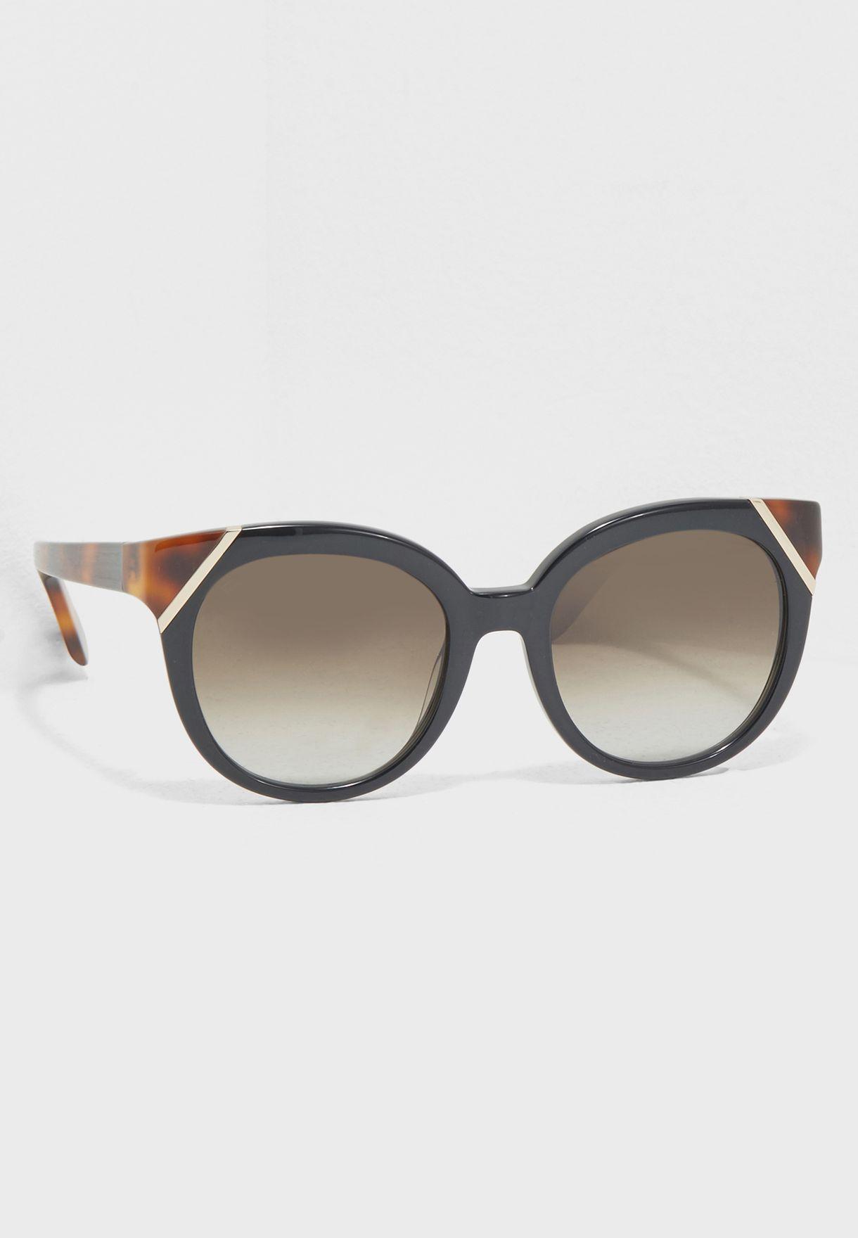 a4dd2936bd8 Shop Salvatore ferragamo black Tea Cup Sunglasses SF836S for Women in Kuwait  - SA277AC67LIU