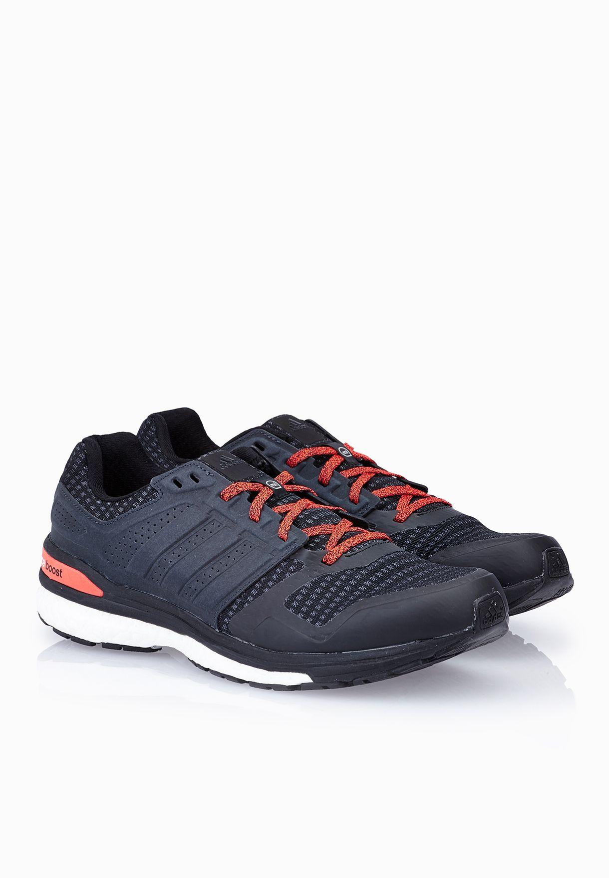 5b26c6d0168e Shop adidas black Supernova Sequence Boost 8 M B34594 for Men ...