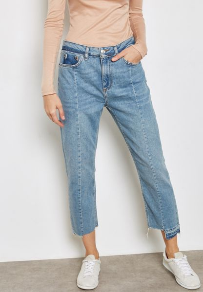 MOTO Reformed Straight Jeans