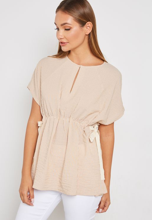 Ruched Detail Top