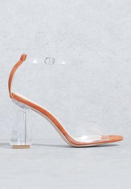 Perspex Sandals