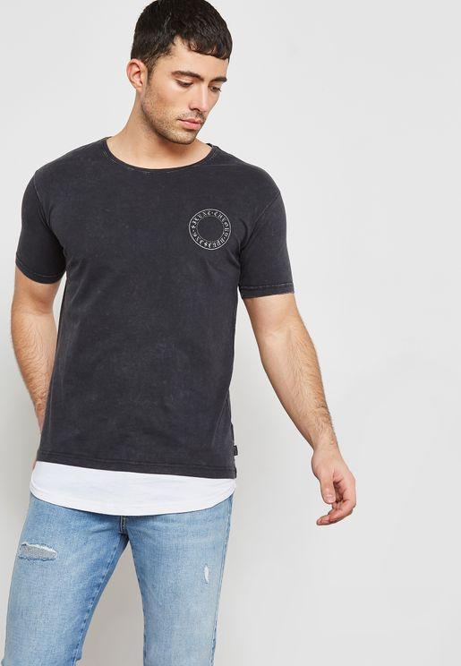 Peter Back Print T-Shirt