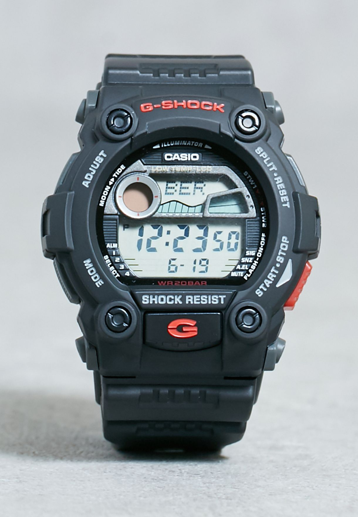 0c968a3e3ca99 Shop G Shock black G-7900-1DR Watch G-7900-1DR for Men in Qatar ...