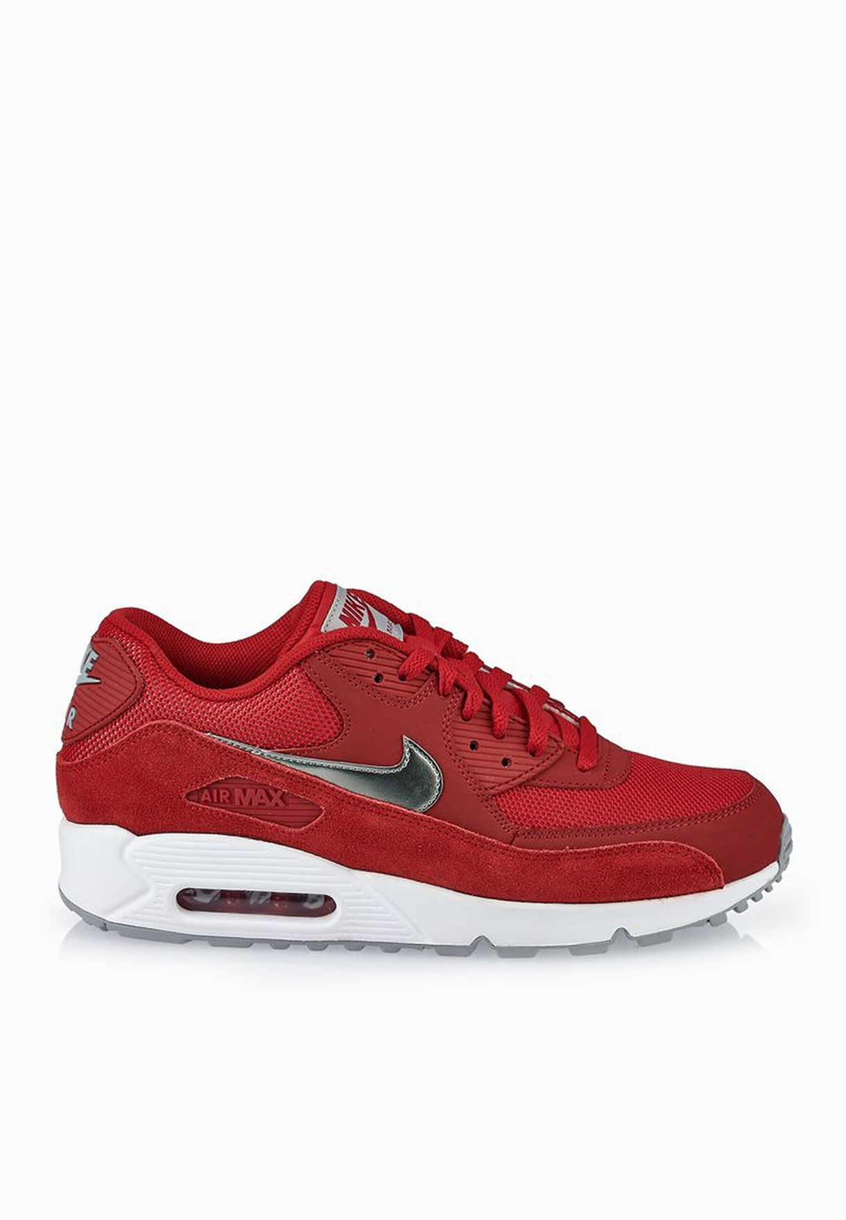 d0da0a4c3b Shop Nike red Air Max 90 Essential 537384-602 for Men in UAE ...