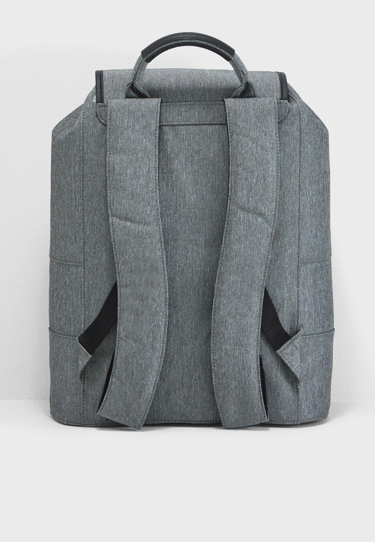 1637508896ea37 Shop Ted baker grey Rayman Backpack 141737 for Men in Kuwait ...