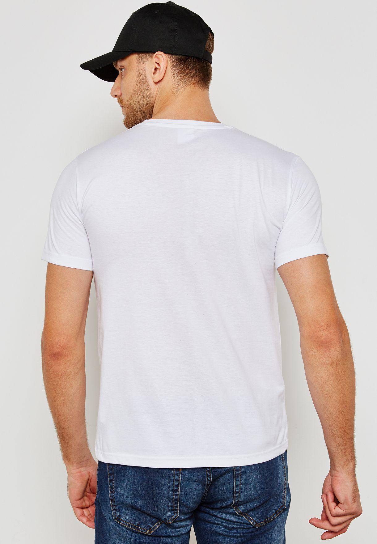 New York Crew Neck  T Shirt