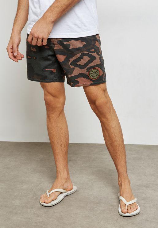 Leopoard Shorts