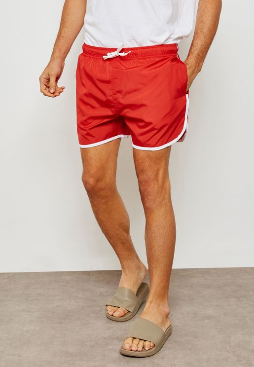 Side Stripe Swim Shorts