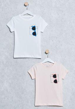 Kids 2 Pack Veenki T-Shirts
