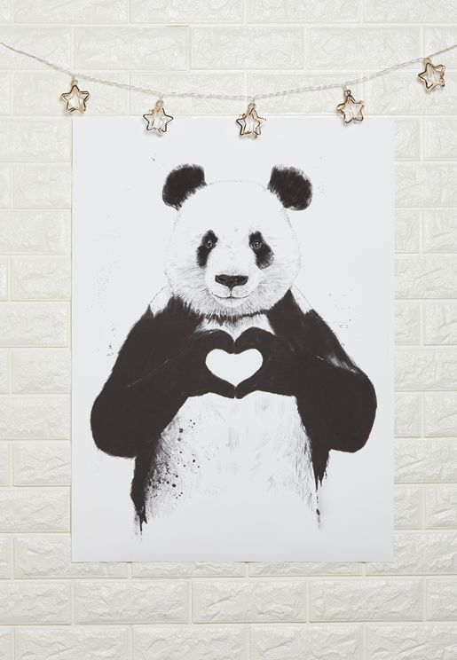 All You Need Is Love Art Print 50x70cm