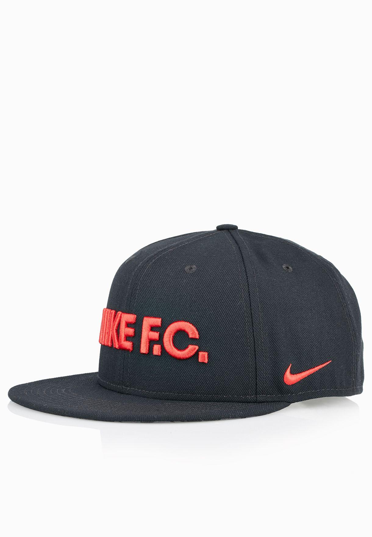 a01941ab404 Shop Nike black F.C. True Snapback Cap 715621-011 for Men in Qatar -  NI727AC67MTS