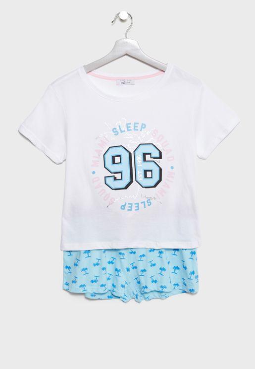 Teen T-Shirt + Shorts Set