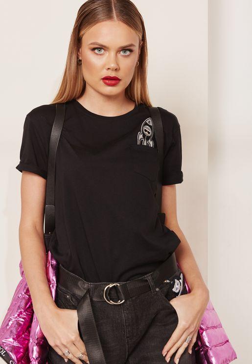 Inkonic Pocket Detail T-Shirt